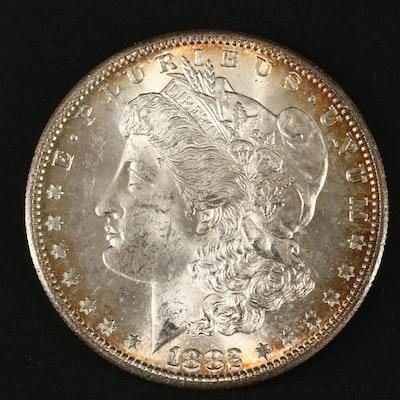 1882-S Silver Morgan Dollar