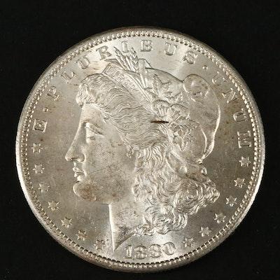1880-S Silver Morgan Dollar