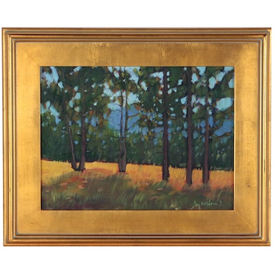 "Jay Wilford Landscape Oil Painting ""Lodgepole Pine"""