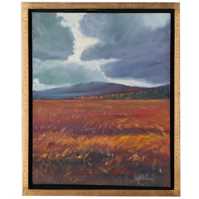 "Jay Wilford Landscape Oil Painting ""Highlands"""