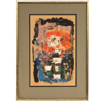 Abstract Oil Painting, 1963
