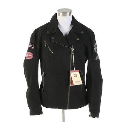 Women's Indian Motorcycle Brand Black Freedom Jacket
