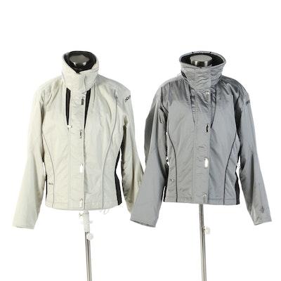 Spyder Zipper Front Insulated Jackets