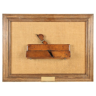 Higgs Wooden Fielding Plane, Late 18th Century to Early 19th Century