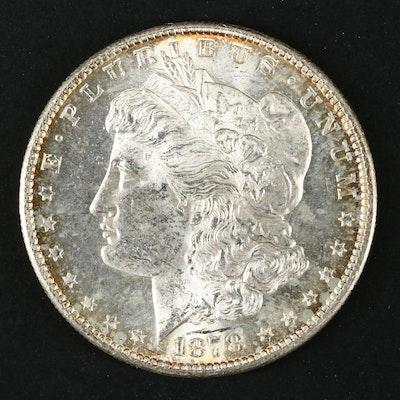 1878-S Silver Morgan Dollar
