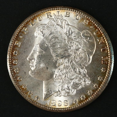 1898-O Silver Morgan Dollar