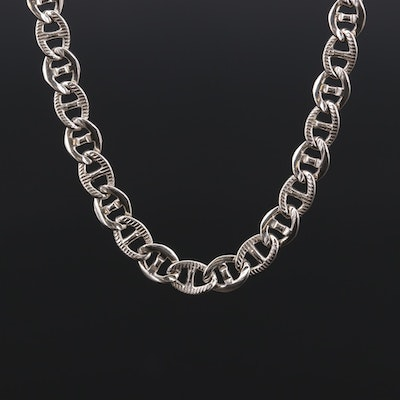 Sterling Silver Mariner Chain