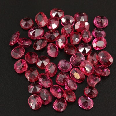 Loose 20.40 CTW Ruby Gemstones
