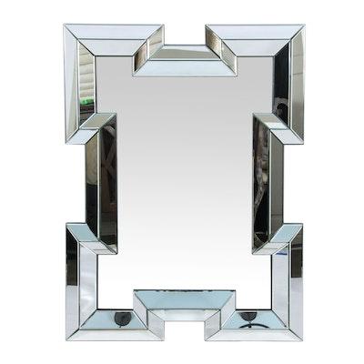 Raised Panel Wall Mirror