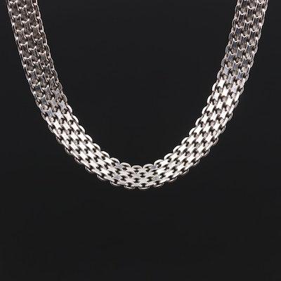 Sterling Silver Bismark Chain