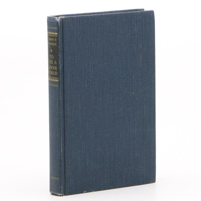 "Signed First Edition ""To Seek a Newer World"" by Robert F. Kennedy, 1967"