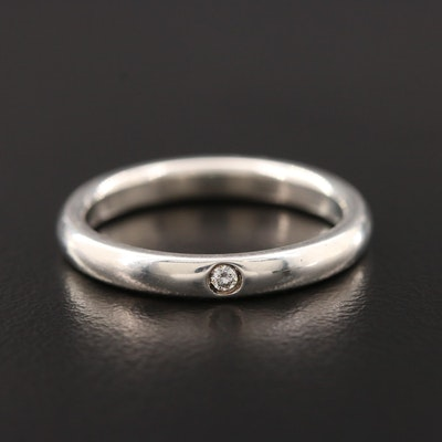 Elsa Peretti for Tiffany & Co. Sterling Silver Diamond Ring