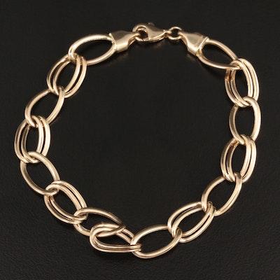 14K Yellow Gold Fancy Bracelet