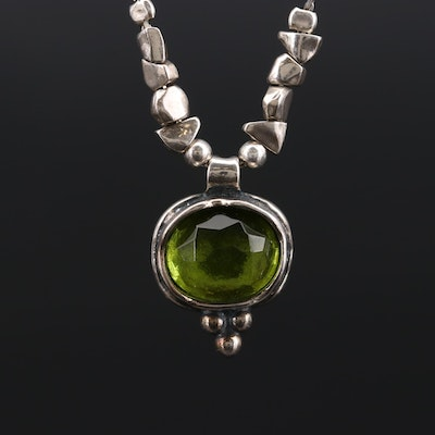 Silpada Sterling Silver Glass Necklace