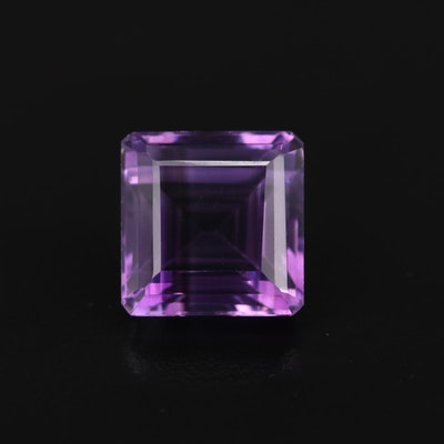 Loose 18.84 CT Amethyst Gemstone