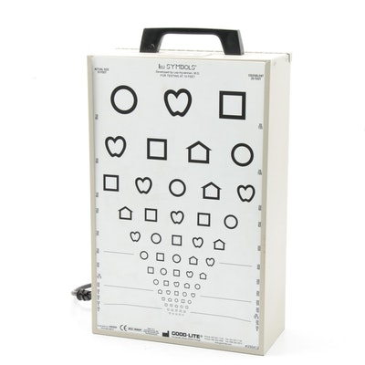 Good-Lite RDE Stereotest Random Dot E Optical Lightbox