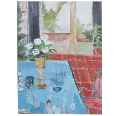 Krista Sheldon Still Life Oil Painting