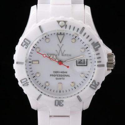 Toy Watch Fluo Candy Sugar Quartz Wristwatch