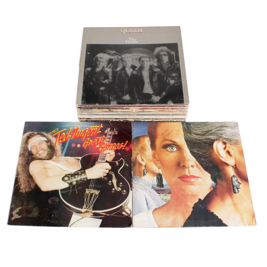 Queen, Styx, Ted Nugent and More 1970s and 1980s Vinyl Record Albums