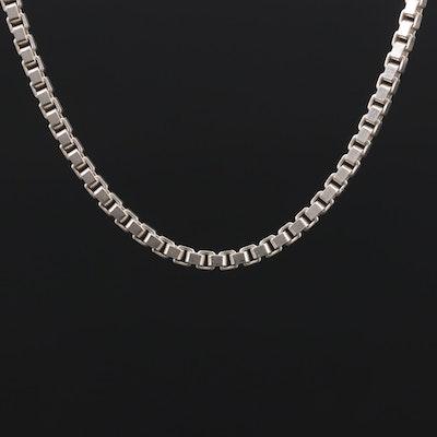 Sterling Silver Box Chain