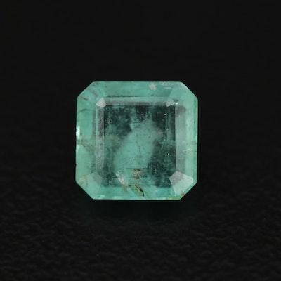 Loose 1.03 CT Emerald Gemstone