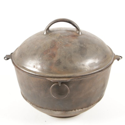 Griswold Cast Iron Handled No. 8 Dutch Oven