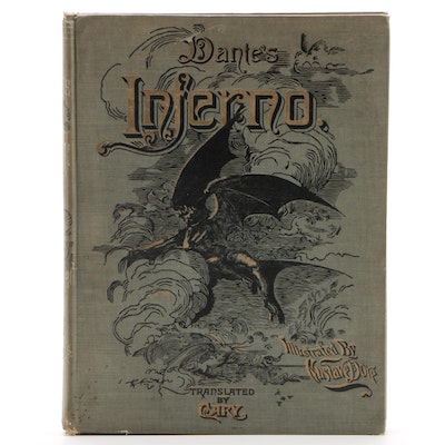 "Dante Alighieri's ""Inferno"" with Gustave Doré Illustrations, circa 1890"