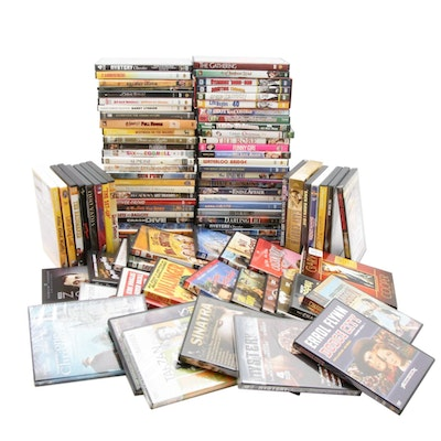 """Classic Silver Screen DVDs, Including """"Rock Hudson"""", """"Dean Martin"""" and Others"""