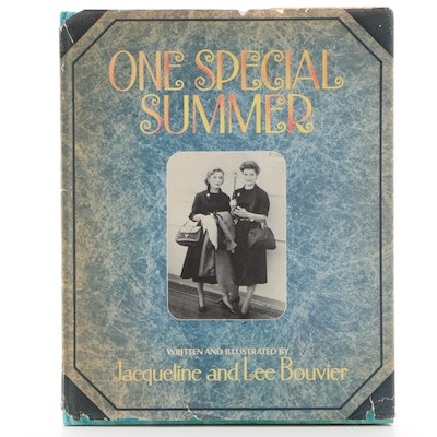 """First Printing """"One Special Summer"""" by Jacqueline and Lee Bouvier, 1974"""