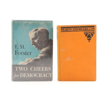 "First Edition Nonfiction Books by E. M. Forster Including ""Pharos and Pharillon"""