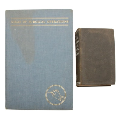 "Medical Books Including ""Atlas of Surgical Operations"""