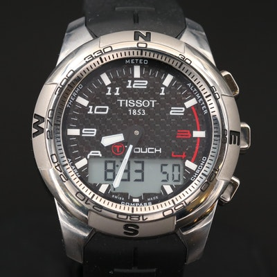 Tissot T - Touch II Titanium Multi-function Quartz Wristwatch