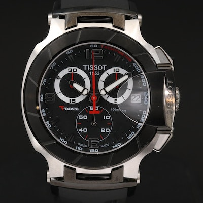 Tissot - T -  Race Stainless Steel Chronograph Wristwatch