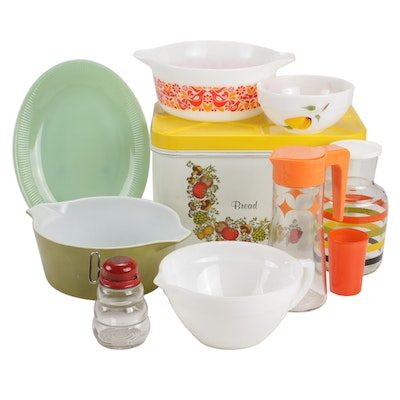 Pyrex, Fire King and Other Serveware and Table Accessories, Mid-20th Century