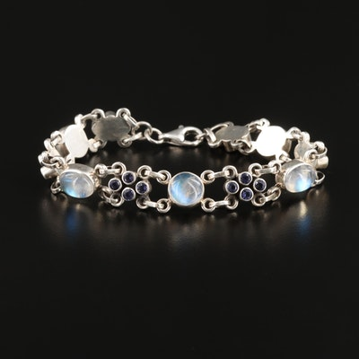Nicky Butler Sterling Silver Moonstone and Tanzanite