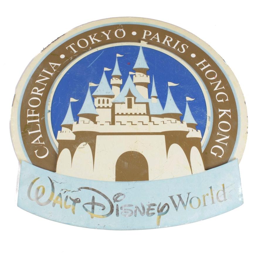 Walt Disney World Lamppost Sign from Magic Kingdom