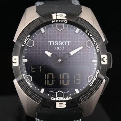Tissot T - Touch Expert Solar Titanium Quartz Wristwatch