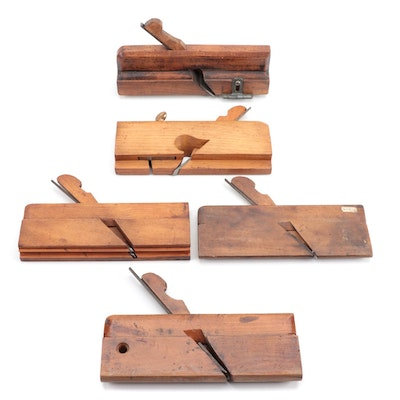 Molding Planes, Includes Sargent & Co., V.A. Porter and More