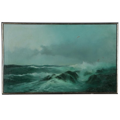 Jack Smith Seascape Oil Painting