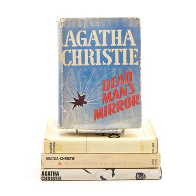 """First American Edition """"Dead Man's Mirror"""" with More Agatha Christie Firsts"""