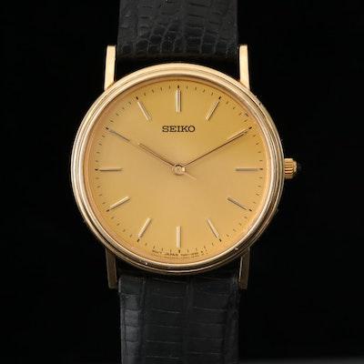 Seiko 14K Gold Quartz Wristwatch