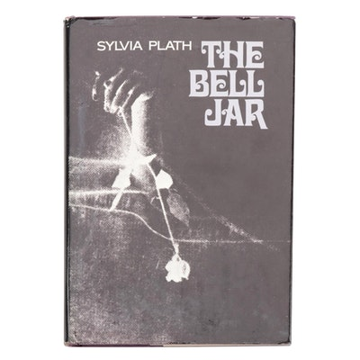 """First American Edition, Later Printing """"The Bell Jar"""" by Sylvia Plath, 1971"""