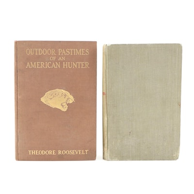"First Trade Edition ""Outdoor Pastimes of an American Hunter"" with ""Fresh Tracks"""