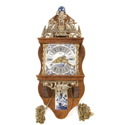 Franz Hermle Atlas Dutch Wall Clock By Alma Klokken