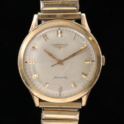 10K Gold Filled Longines Automatic Wristwatch