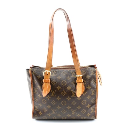 Louis Vuitton Popincourt Haut Shoulder Bag in Monogram Canvas and Leather