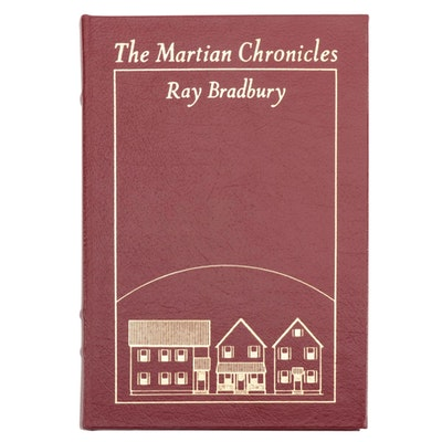 "Signed Easton Press Edition ""The Martian Chronicles"" by Ray Bradbury, 2000"