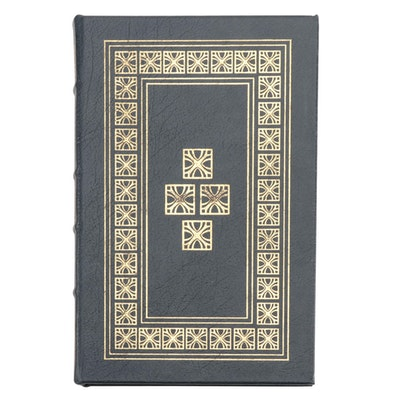 """Signed Easton Press Edition """"Rumpole of the Bailey"""" by John Mortimer, 1978"""