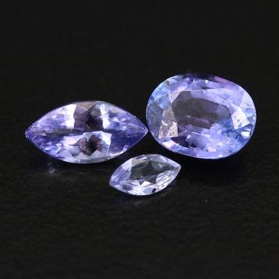 Loose 1.86 CTW Tanzanite Gemstone