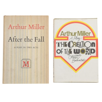 "First Edition Arthur Miller Plays Including ""After the Fall"""